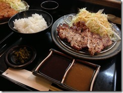 とん亭 ロース焼き定食
